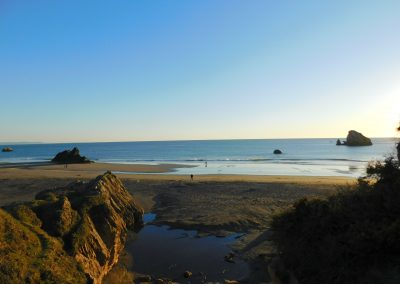 Beautiful beaches in Brookings, Oregon