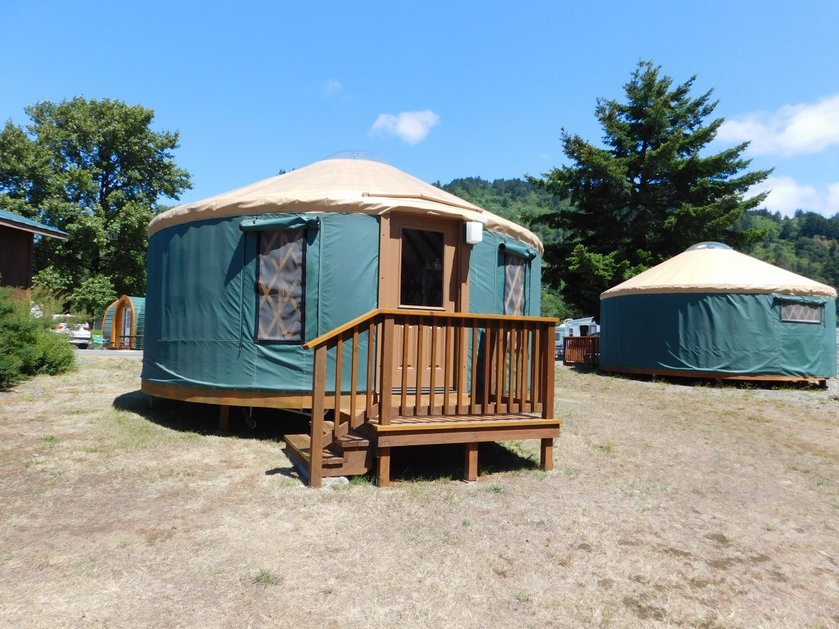 Yurt at AtRivers Edge RV Resort