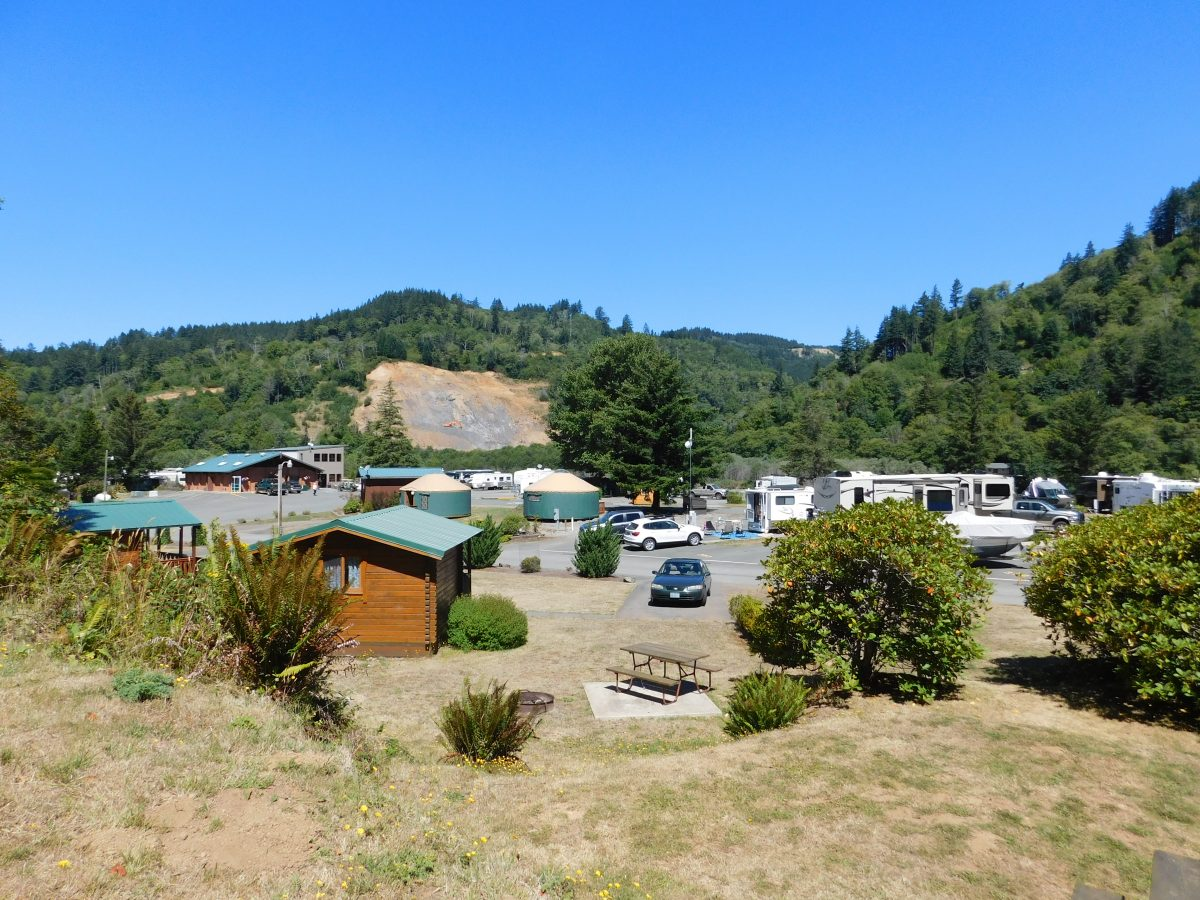 View of AtRivers Edge RV Resort